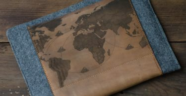 iPad Air Leather & Felt Sleeve