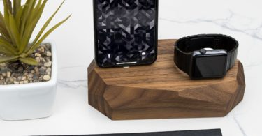 Oak Combo Dock Charging Station