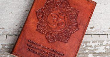 Refillable OM Handmade Leather Journal