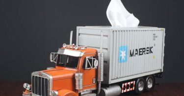 Transformers Optimus Prime Cargo Truck Tissue Box