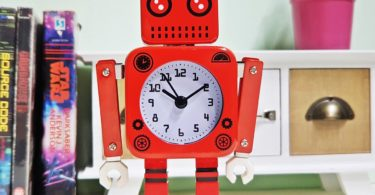 Tin Robot Clock