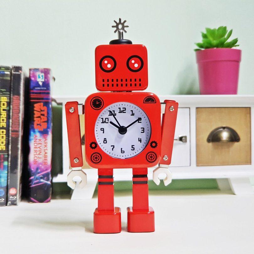 Tin Robot Clock