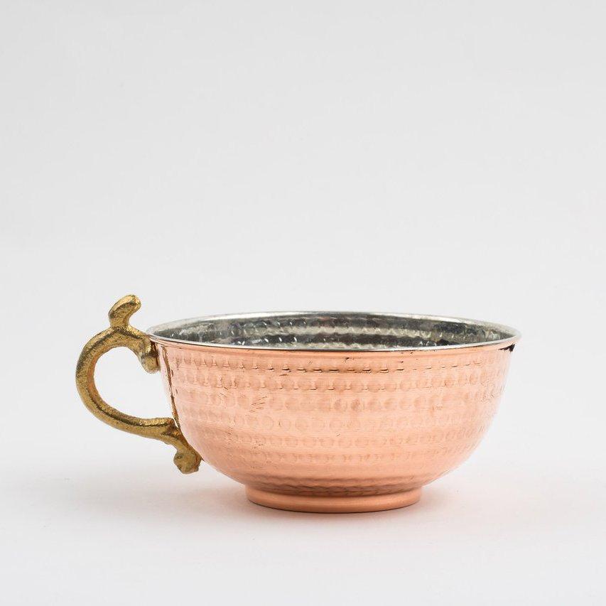 Copper Shaving Bowl