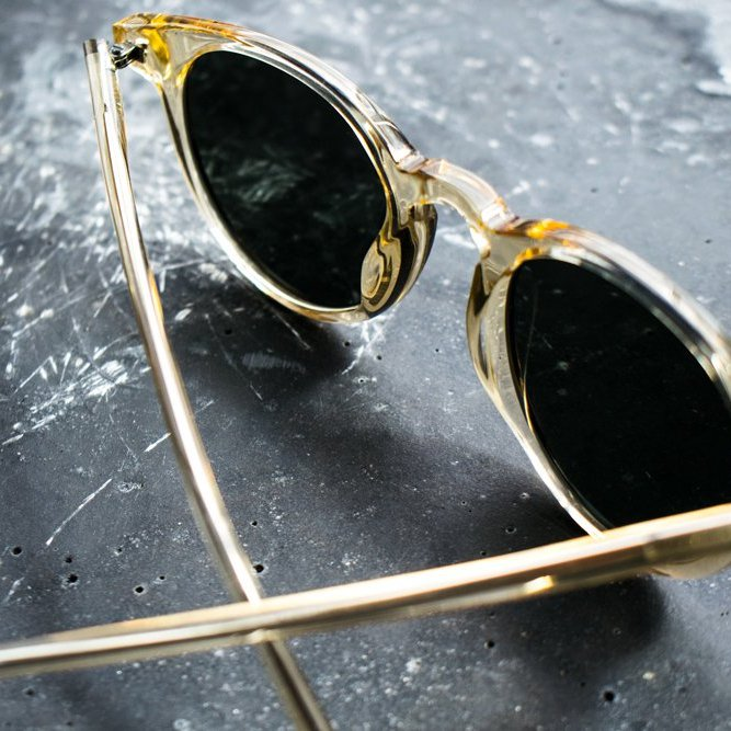 Depp Champagne Sunglasses