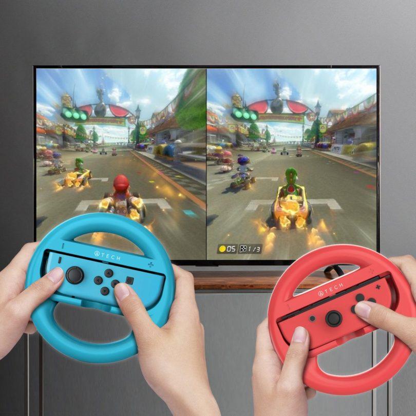 Nintendo Switch Steering Wheel Set