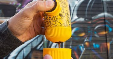 Nanopresso Yellow Tattoo Portable Espresso Machine