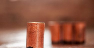 Copper Shots Set of 4