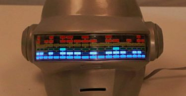 Daft Punk Voice Control Helmet