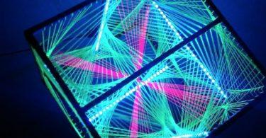 String Art LED Cube