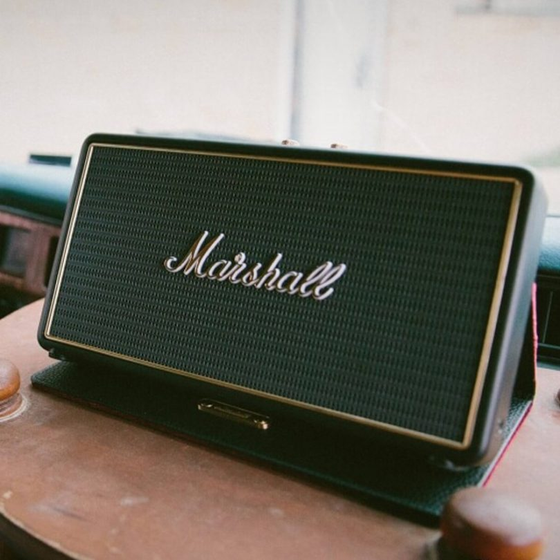 Marshall Stockwell Wireless Speaker with Flip Cover