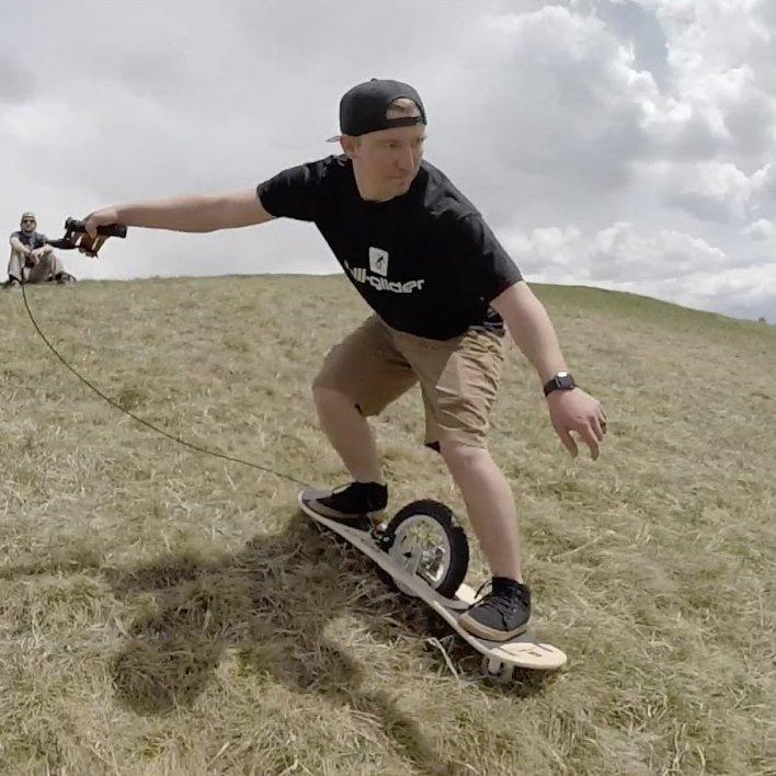 Hill-Glider Skateboard