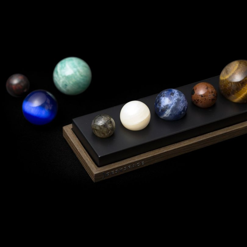 DeskSpace Gemstone Solar System