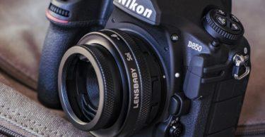Lensbaby Sol 45 Tilt Lens