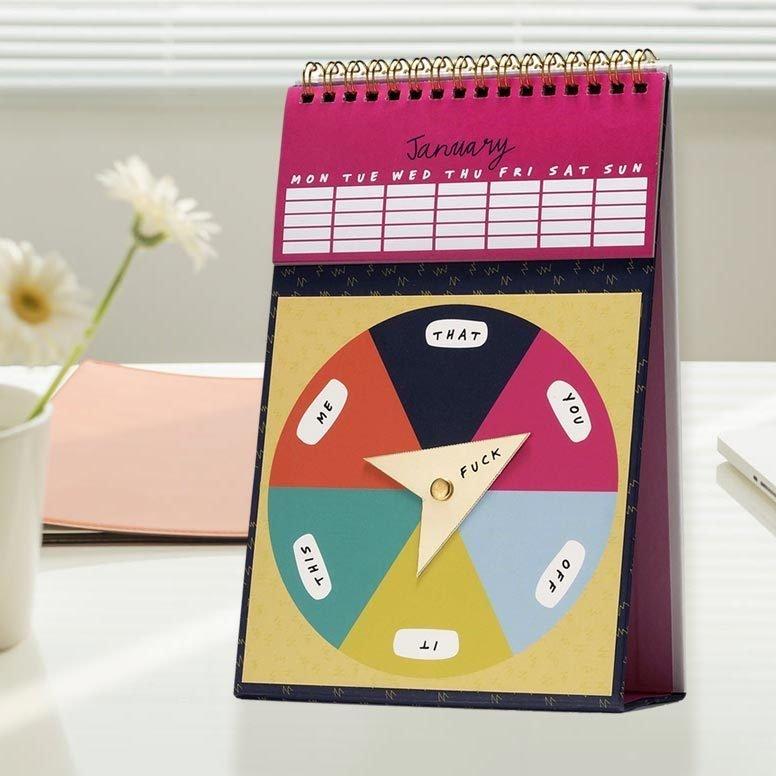 Optional F*cks Perpetual Calendar