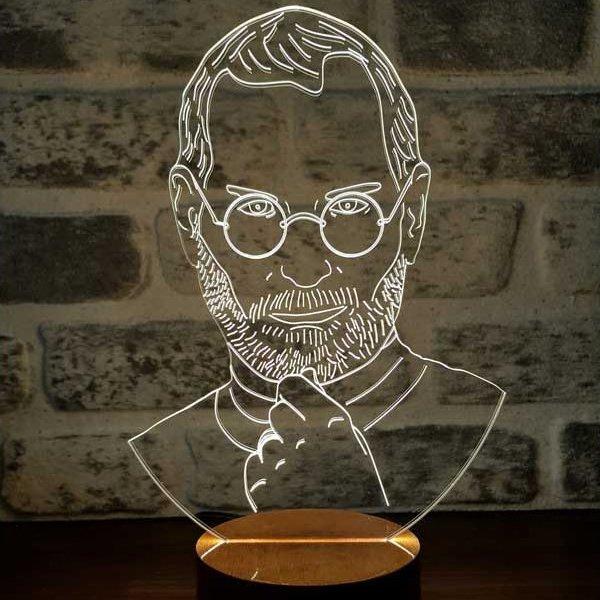 Steve Jobs Lamp
