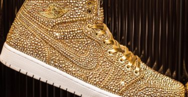 Golds Air Jordan I by Daniel Jacob