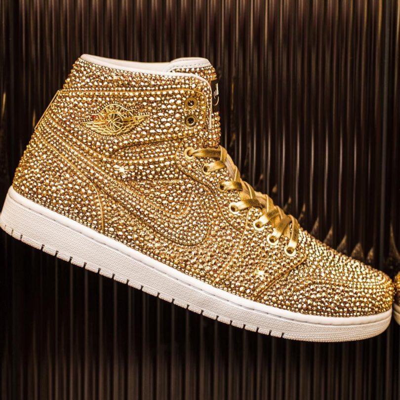 Golds Air Jordan I by Daniel Jacob