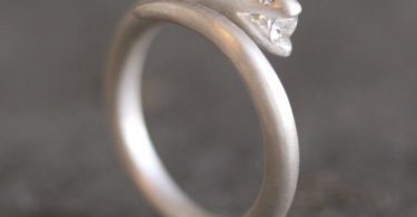 Small Open Mouth Snake Ring