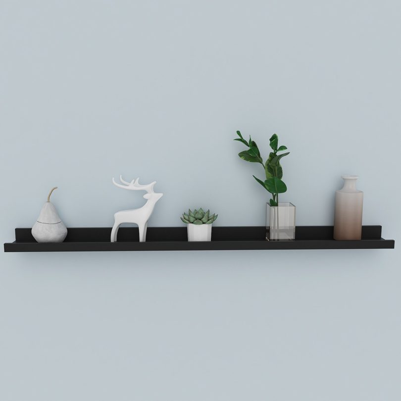 Homdox Modern Design Picture Ledge Wall Shelf