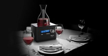 Alpina iFavine iSommelier Smart Wine Decanter