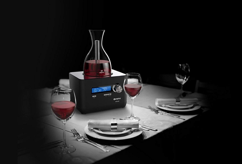 Alpina iFavine iSommelier Smart Wine Decanter