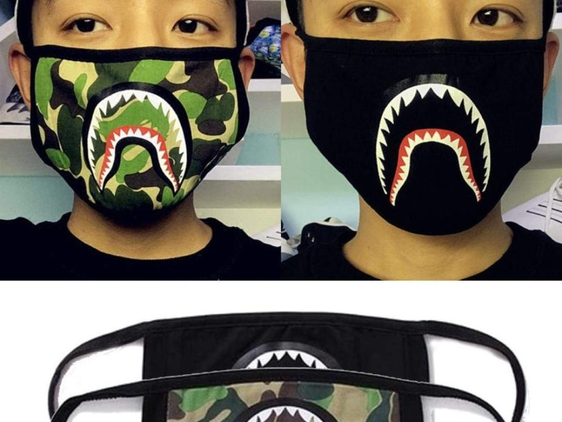 Bape City Camo Mask Black