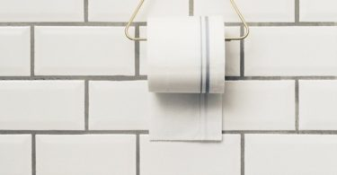 Brass Toilet Paper Holder by Ferm Living