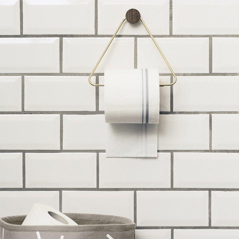 Brass Toilet Paper Holder by Ferm Living