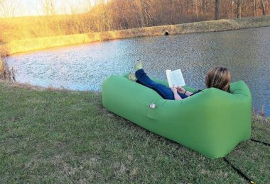 SlyComfort Inflatable Air Lounger,