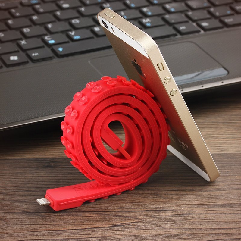 Snail Sucker Silicone Lightning USB Cable