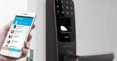 Ultraloq UL3 BT Bluetooth Enabled Fingerprint & Touchscreen Smart Lock