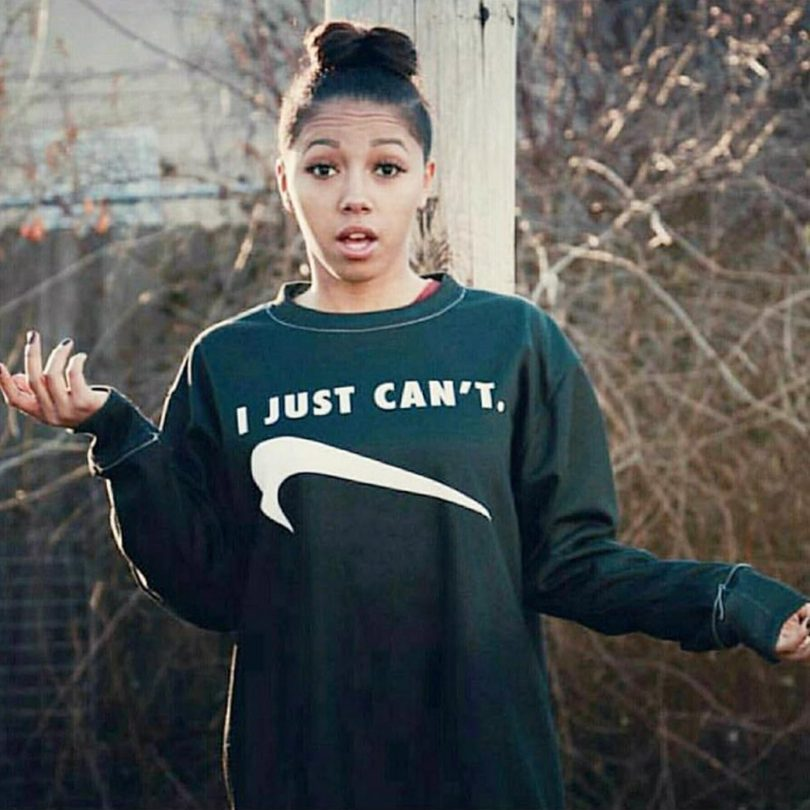 I Just Can't Black Sweatshirt