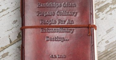 Hardships Handmade Leather Journal