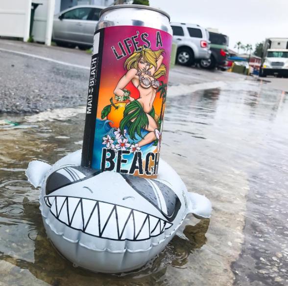 Super Chill Shark Beverage Boats
