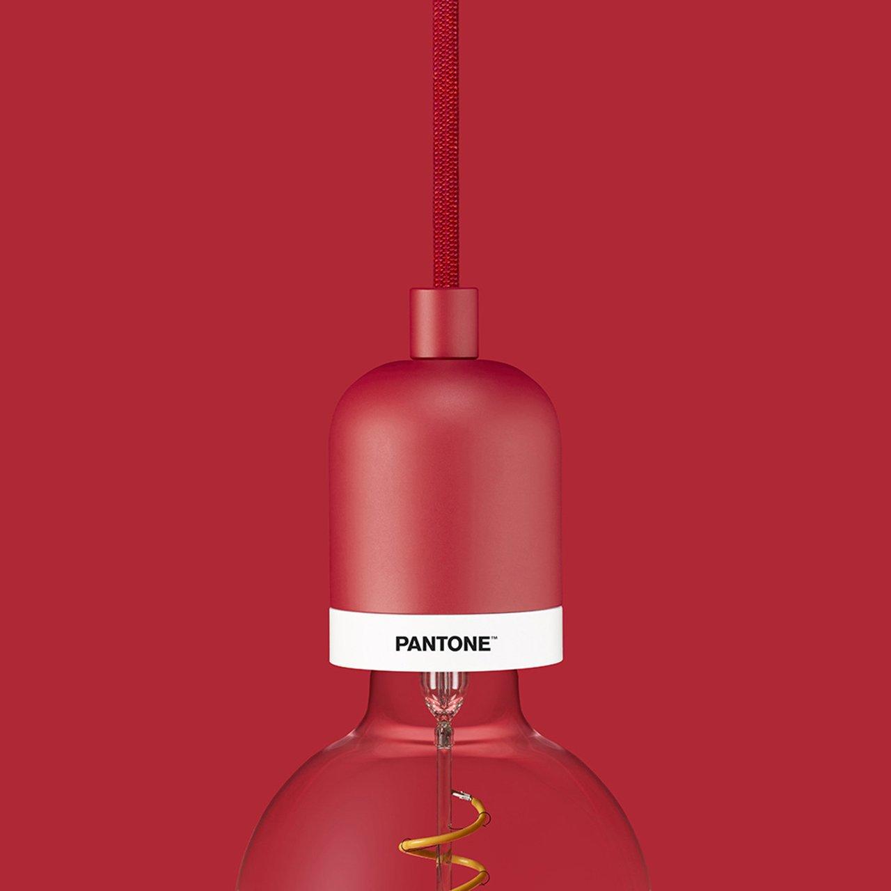 Pantone Cardinal Drop Cap Pendant