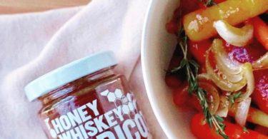 Honey Whiskey Apricot Jam