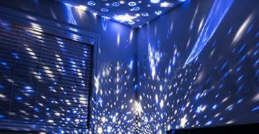 Night Light Moon Star Projector Lamp