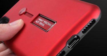 Extensible Silicone Strap Kickstand Armor Case