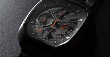 Limited Edition Rebel-AC Swiss Made Automatic Chronograph Gray IP & Gray Dial