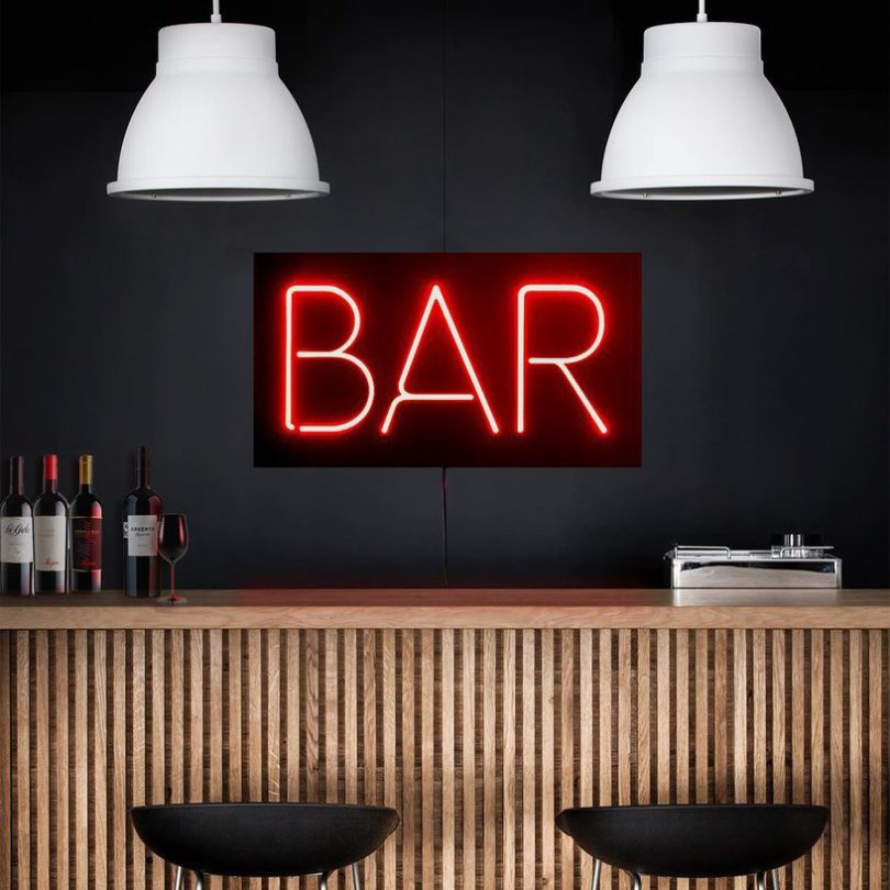 BAR LED Neon Sign