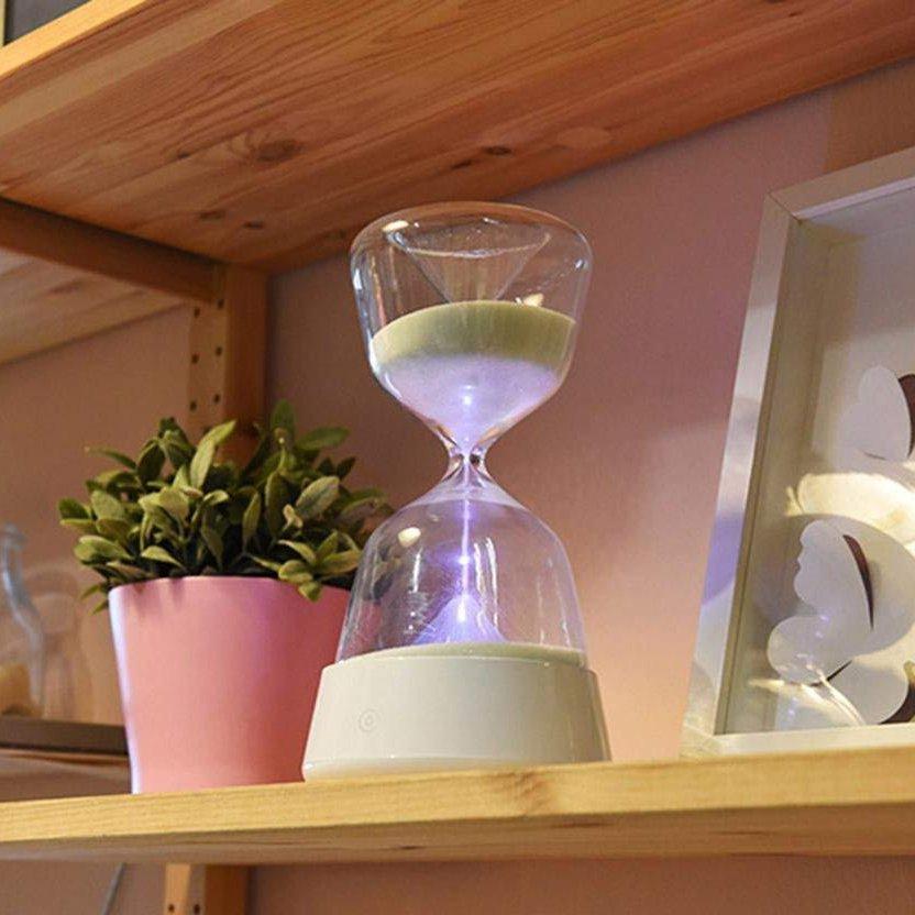Hourglass LED Lamp
