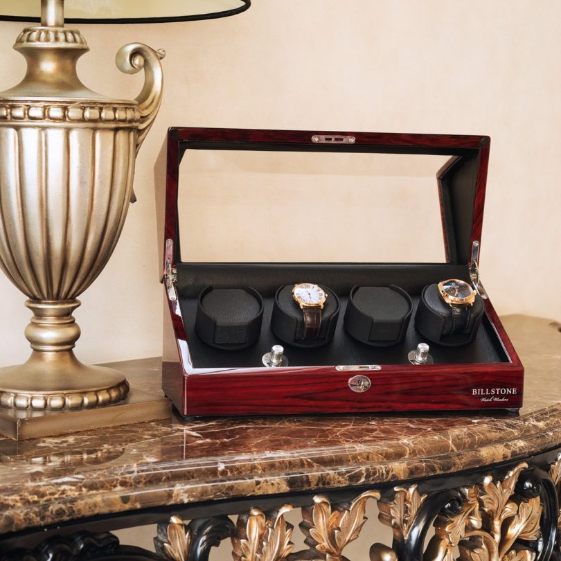 BillStone Collector 4 Rosewood Watch Winder