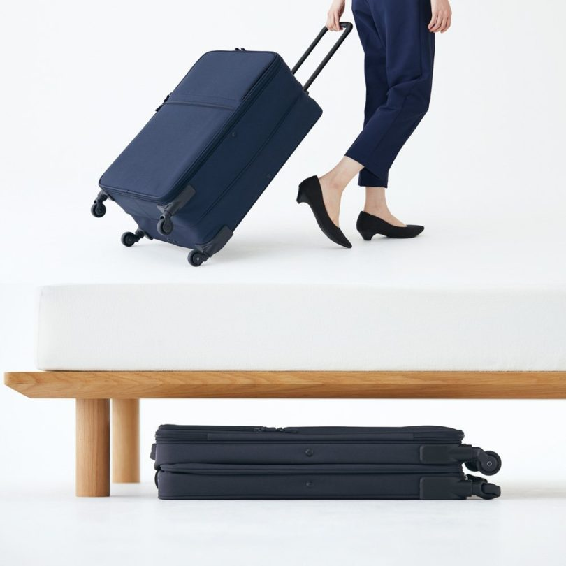 Foldable Soft Carry Suitcase