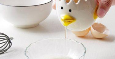 Ceramic Chicken Egg Separator