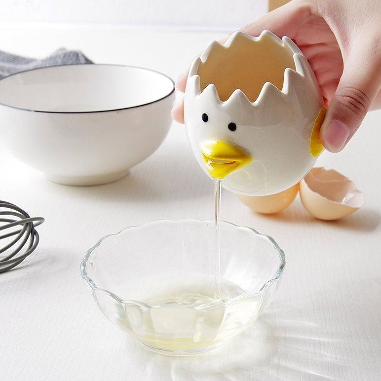 Ceramic Chicken Egg Separator