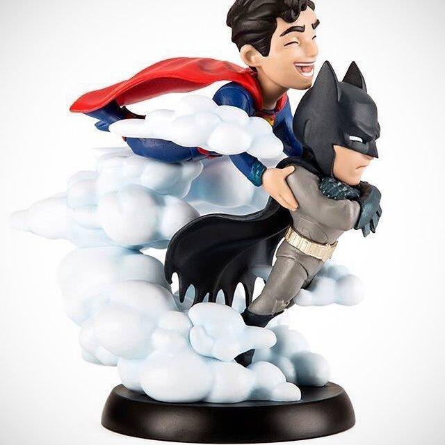 Finest Batman and Superman Q-Fig