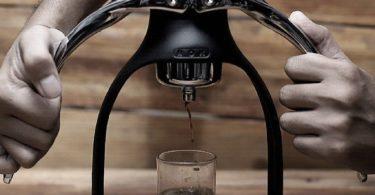 ROK Presso Black Manual Espresso Maker