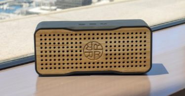 Reveal Bamboo Solar Bluetooth Speaker