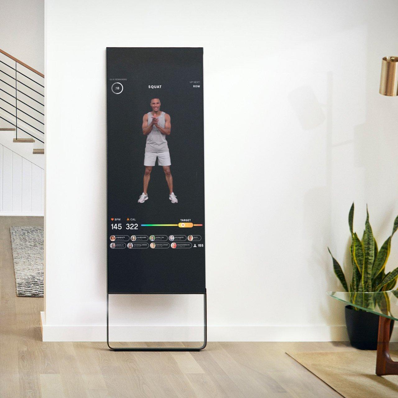 Mirror Interactive Home Gym 187 Petagadget