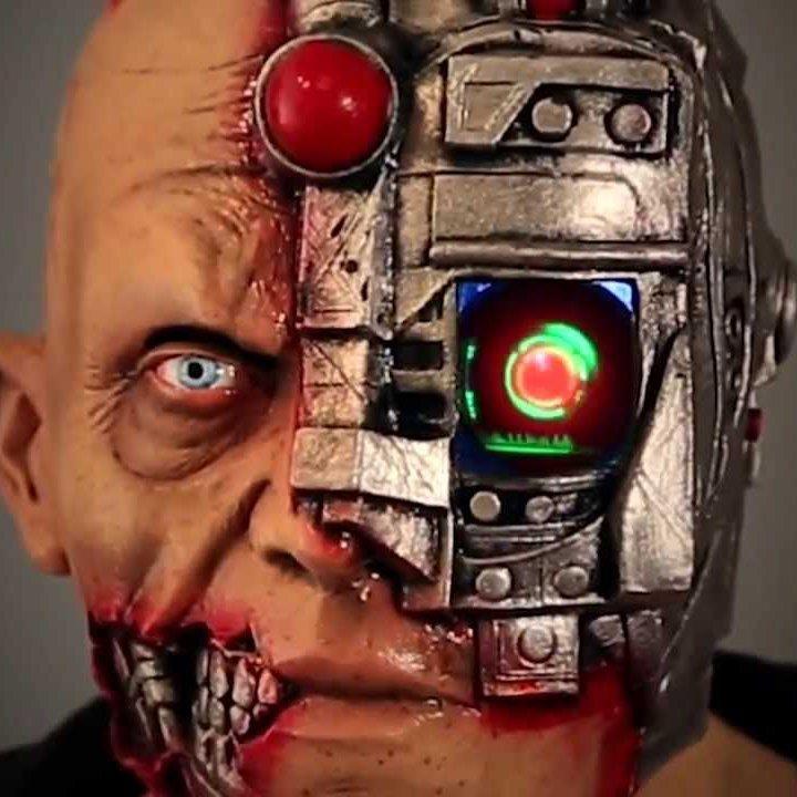 Digital Dudz Cyborg Mask